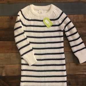 NWT!!!🌸Toddler girl knit striped dress